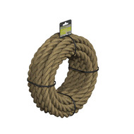Pre-Coiled 3 Strand Manila Rope 28mm