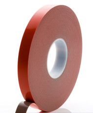 33 Metre Foamed Grey Structural Acrylic Gel Tape With Red Liner