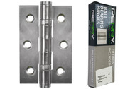 100mm x 76mm x 2.7mm Strong Ball Bearing Butt Hinges (Per Pair)