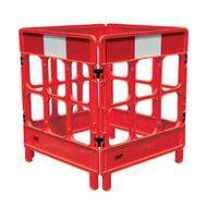 JSP Workgate® 4 Gate with Reflectives - Red