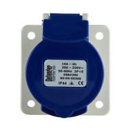 16A Panel Socket - Blue 240V