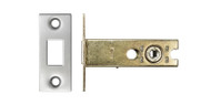 63mm Tubular Deadbolt For Bathroom Locks, Satin Stainless