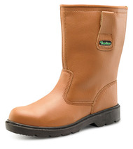 Click Trader Thinsulate S3 Rigger Boot, Tan