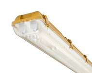 110V IP65 2x58W 5ft Twin HF Non-Corrosive Fluorescent Fitting