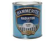 Hammerite Radiator Paint Gloss White 500ml