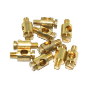 M4 Earth Terminal Brass (Pack 10)