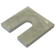 Pre-Galvanised Metal Shims (14mm Hole)