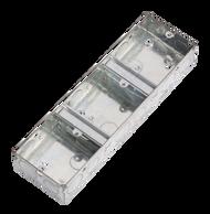 3G 35mm Triple Galvanised Steel Box
