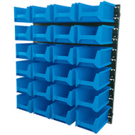 Draper 24 Bin Wall Storage (Large Bins)