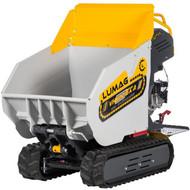 Lumag VH500DA 500kg Track Barrow with Diesel Engine and Hydraulic Tip