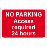 No Parking Access Required 24 Hours - RPVC (600 x 400mm)