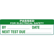 Electrical Safety Stickers - SAP (51 x 15mm, Sheet Of 80 Labels)