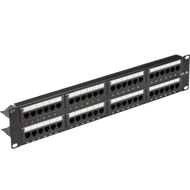 "Knightsbridge 19"" 2U 48-port UTP CAT5e Patch Panel"
