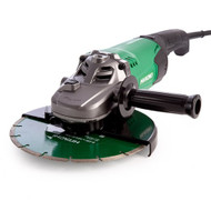 HiKOKI G23ST Grinder with Diamond Blade and Carry Case 230mm / 9 Inch