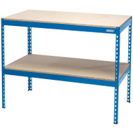 Draper Steel Workbench With Wooden Top