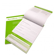 3 Pack of Report Books - Accident, Near Miss and Fire Log