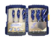 Irwin Blue Groove 6X Wood Drill Bit Set 6 Piece 16-32mm