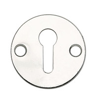 Open Escutcheon Cover Polished Chrome (Each)