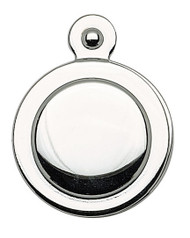 Covered Escutcheon Polished Chrome (Each)