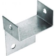 42 x 32 x 21mm BZP Support Bracket (Per 10)