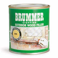 Brummer Exterior Wood Filler 625g Tin - Natural Oak