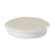 Hinge Hole Cover Caps - White (Pack Of 4)