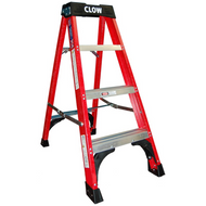 Clow EN131 Professional Superglas Insulated Glassfibre Step Ladders