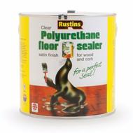 Rustins Polyurethane Floor Seal - Satin 5 Litre