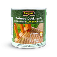 Rustins Textured Decking Oil 2.5 Litre