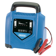 Draper 6v/12v 10Ah - 85Ah Battery Charger 230v