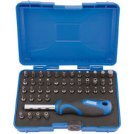 Draper Security Screwdriver Bit Set And Driver (45 Piece)