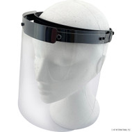 Full Face Clear, Lightweight Adjustable Face Shield