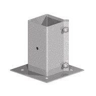 Galvanised Bolt Down Post Support - Bolt Type (Each)