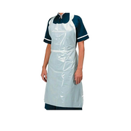 Waterproof Blue Plastic Aprons (Per 100 Pack)