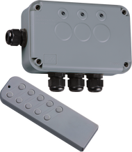 IP66 Outdoor 3 Gang Remote Switch Box