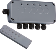 IP66 Outdoor 5 Gang Remote Switch Box