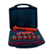 """ITL Insulated 1/2"""" Socket Set 12 Piece In Case"""