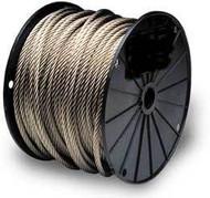 Galvanised Steel Wire Rope (Per 100 Metre Reel)