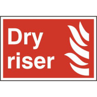 Dry Riser - PVC Sign 300 x 200mm