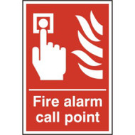 Fire Alarm Call Point - RPVC 200 x 300mm