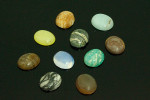 10x12mm Mixing Stone Oval Cabochon 10 pcs.