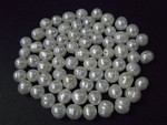 6-7mm White Potato Freshwater Pearl 50pcs.