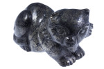 """2"""" Pyrite Cat Carving Collectible (Measure 55x40x25mm)"""