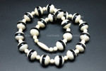14mm Buffalo Bone & Horn Necklace 17""