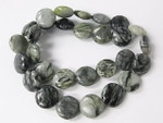 14mm Picasso Jasper Puff Round Beads 15.5""