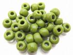 Seed Beads 4mm 6/O 50 Gram 1.7oz (Appx.800), Opaque Light Green