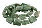 14x18mm Alpine Agate Puff Rectangle Beads 15.5""