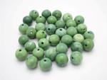 z0032 8mm Buffalo Bone Round Beads Color 50pcs.