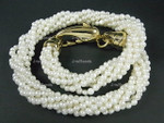 4-5mm 6-Row Pearl Necklace