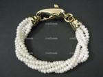 4-5mm 4-Row Freshwater Pearl Bracelet